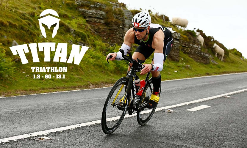 Titan Brecon bike course
