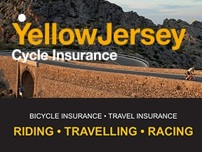 Insure your bike with Yellow Jersey Cycle Insurance.