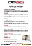 Race letter for the Chilly Duathlon MASTER