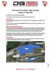 Race letter for the BUCS Chilly Duathlon MASTER